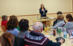 Treffen und Kennenlernen der Kandidatin für die Bürgermeisterin in der VG Altenahr