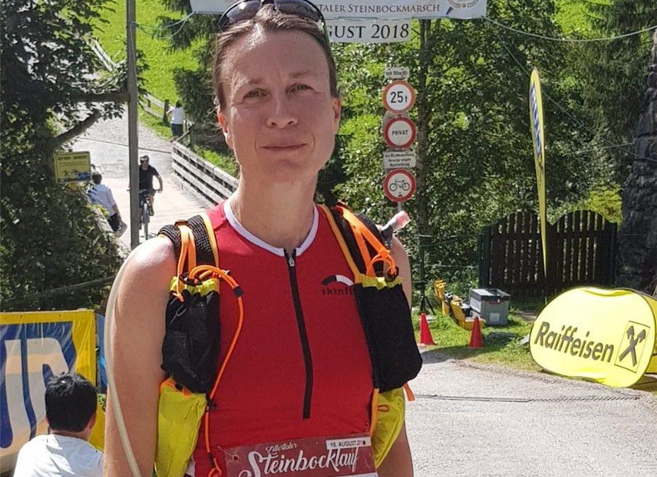 Nach 5:17 Stunden erreichte Cornelia Weigand das Ziel