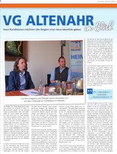 Bürgermeisterkandidatin Cornelia Weigand im Interview bei BLICK aktuell