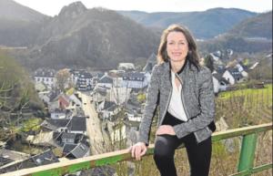 Kandidatin als Bürgermeisterin der VG Altenahr Foto: Gausmann